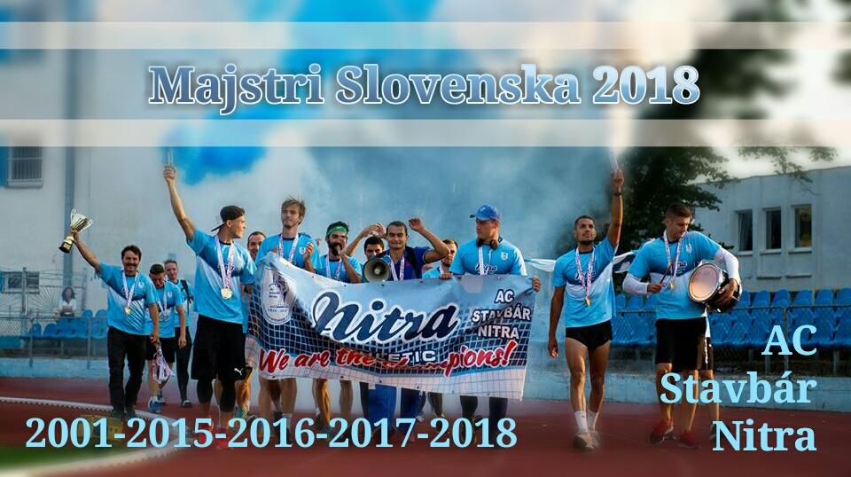 5-krát Majstri Slovenska 2018